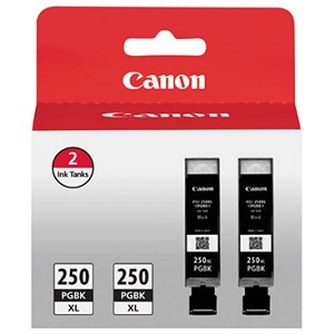 Canon PGI-250PGBK XL Twin Pack