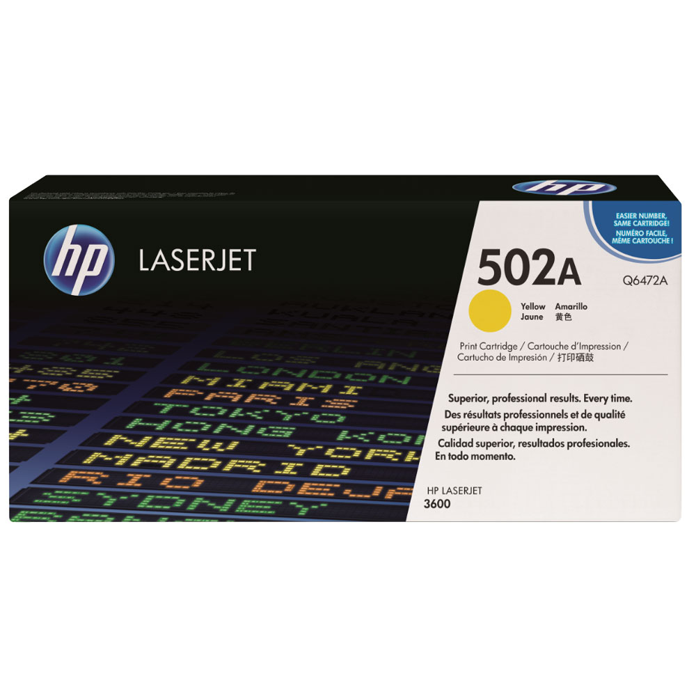 HP Q6472A Yellow Toner Cartridge