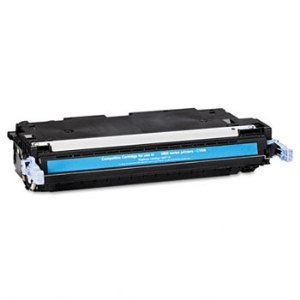 Compatible HP Q7581A Cyan Toner Cartridge