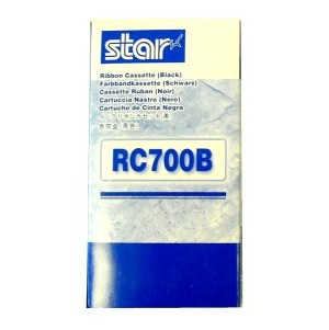 Star RC700B Black Ribbon Cartridge