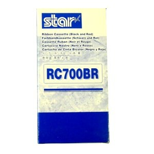 Star RC700BR Black Red Ribbon Cartridge