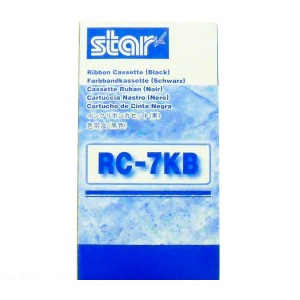 Star RC7KB Black Ribbon Cartridge