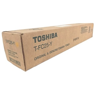 Toshiba TFC25Y Yellow Toner Cartridge