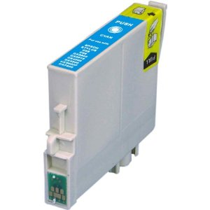 Compatible Epson T060220 Cyan Ink Cartridge