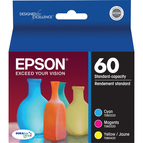 Epson T060520 Color Ink Cartridge Multi Pack