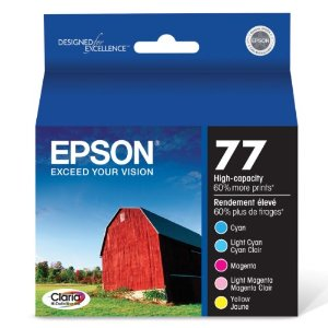 Epson T077920 Color Ink Cartridge Multipack