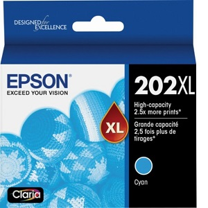 Epson T202XL220 Cyan Ink Cartridge