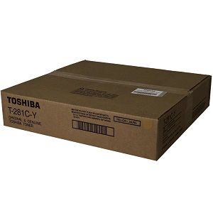 Toshiba T281CY Yellow Toner Cartridge