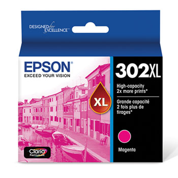 Epson T302XL320 Magenta Ink Cartridge