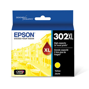 Epson T302XL420 Yellow Ink Cartridge