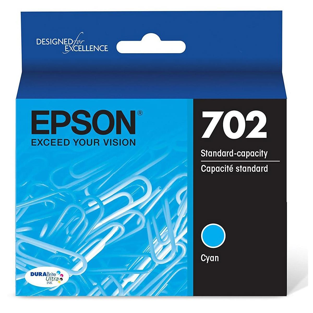 Epson T702220 Cyan Ink Cartridge