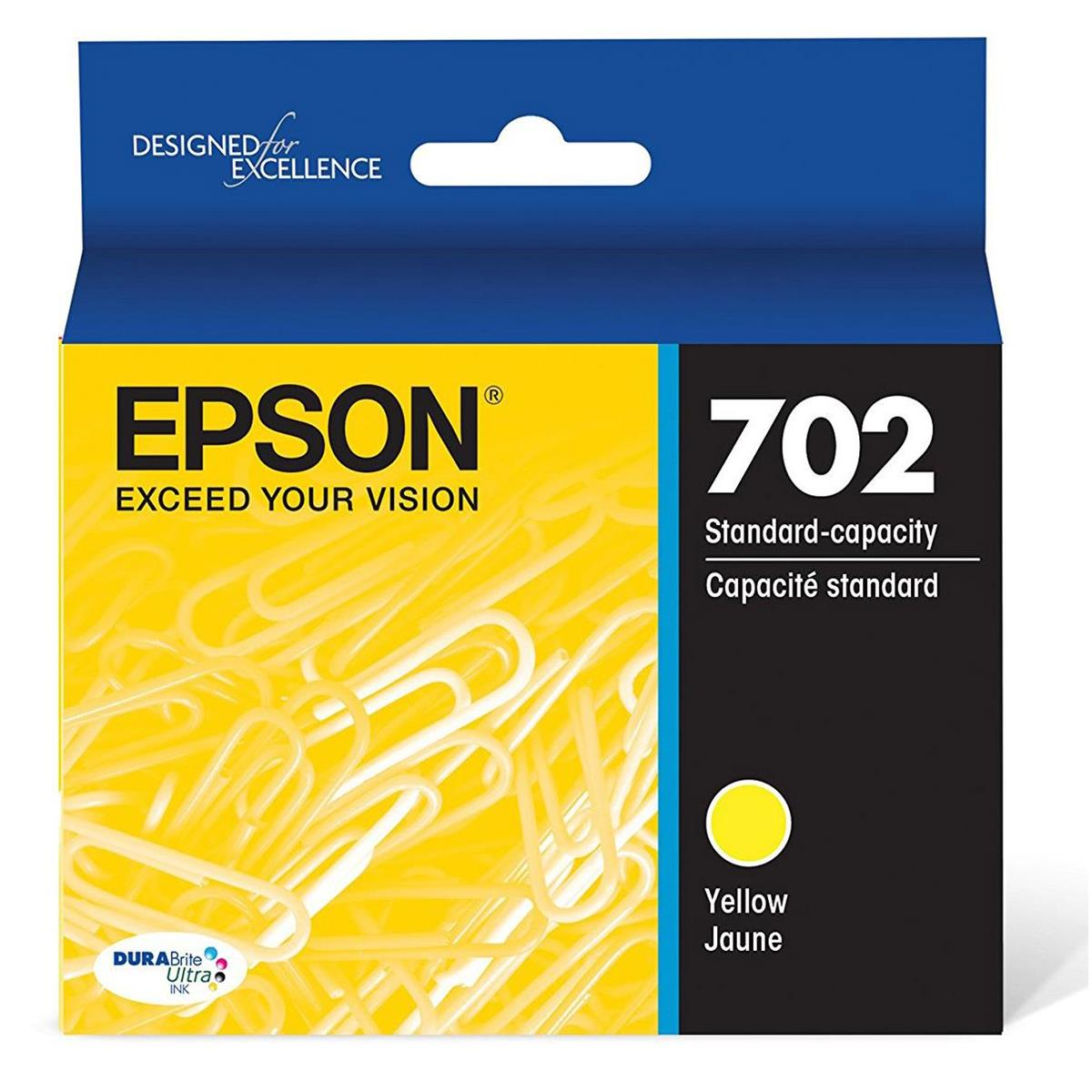 Epson T702420 Yellow Ink Cartridge