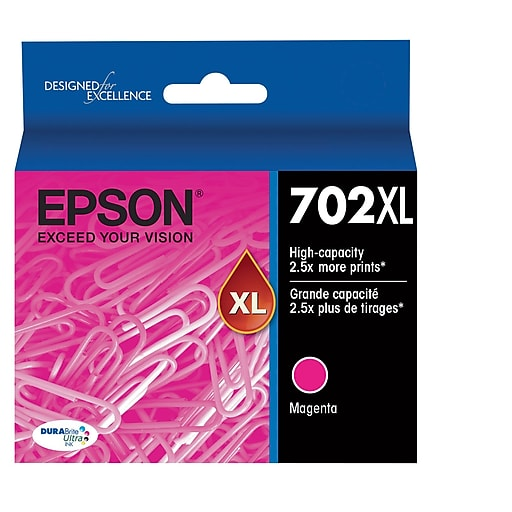 Epson T702XL320 Magenta Ink Cartridge