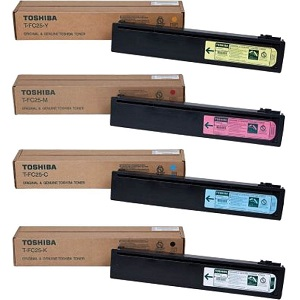 Toshiba TFC25 Toner Cartridge Set