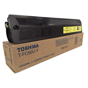 Toshiba TFC50UY Yellow Toner Cartridge