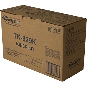 Copystar TK829K Black Toner Cartridge
