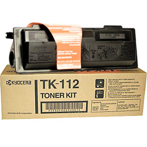 Kyocera TK112 Black Toner Cartridge