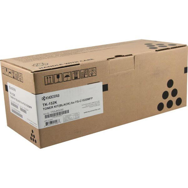 Kyocera TK152K Black Toner Cartridge