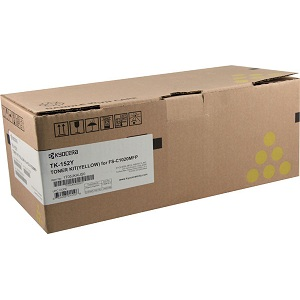 Kyocera TK152Y Yellow Toner Cartridge