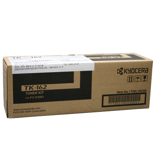 Kyocera TK162 Black Toner Cartridge