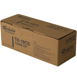 Copystar TK18CS Black Toner Cartridge