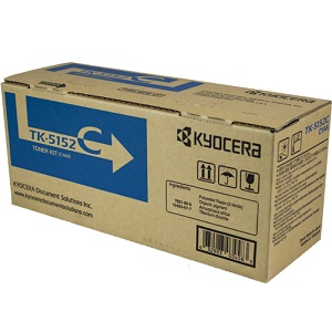 Kyocera TK5152C Cyan Toner Cartridge