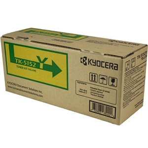 Kyocera TK5152Y Yellow Toner Cartridge