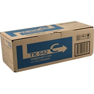 Kyocera TK542C Cyan Toner Cartridge