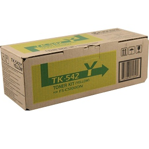 Kyocera TK542Y Yellow Toner Cartridge