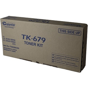 Copystar TK679 Black Toner Cartridge