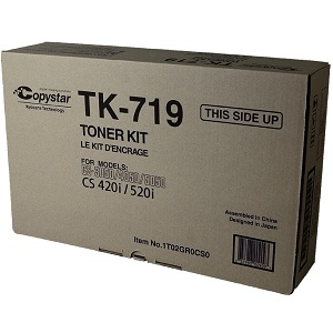 Copystar TK719 Black Toner Cartridge