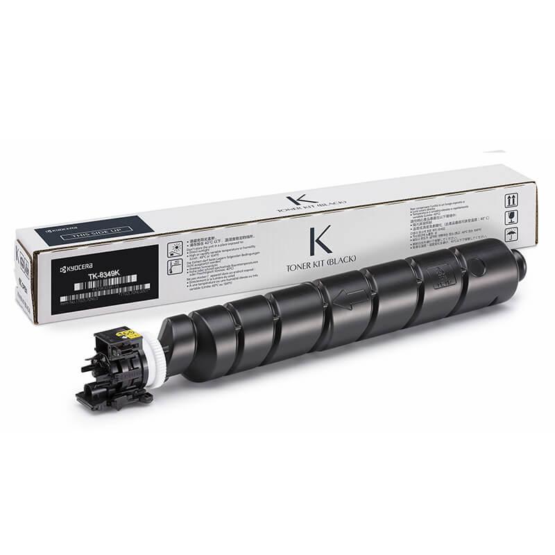 Kyocera TK8347K Black Toner Cartridge - TK8347K   BlueDogInk com