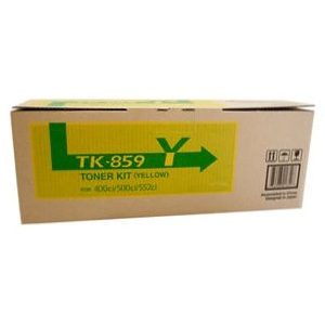 Copystar TK859Y Yellow Toner Cartridge