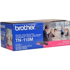 Brother TN115M Magenta Toner Cartridge