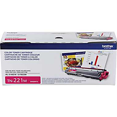 Brother TN221M Magenta Toner Cartridge