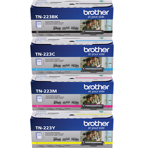 Brother TN223 Toner Cartridge Set