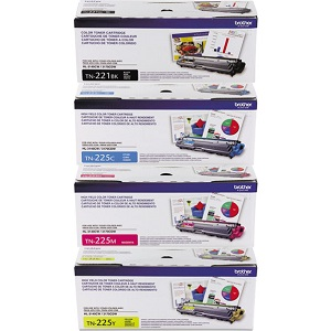 Brother TN225 Toner Cartridge Set