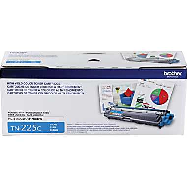 Brother TN225C Cyan Toner Cartridge