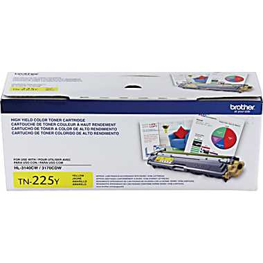 Brother TN225Y Yellow Toner Cartridge