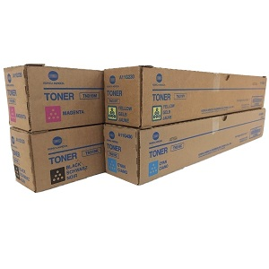 Konica Minolta TN319 Toner Cartridge Set