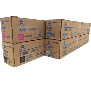 Konica Minolta TN321 Toner Cartridge Set