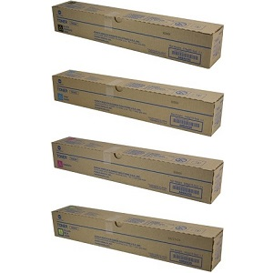 Konica Minolta TN324 Toner Cartridge Set