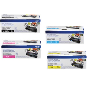 Brother TN331 Toner Cartridge Set