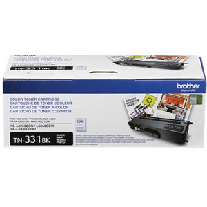 Brother TN331BK Black Toner Cartridge