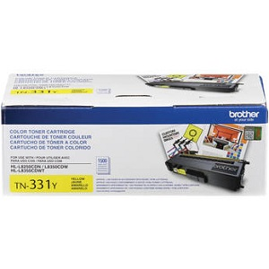 Brother TN331Y Yellow Toner Cartridge