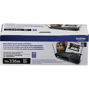 Brother TN336BK Black Toner Cartridge