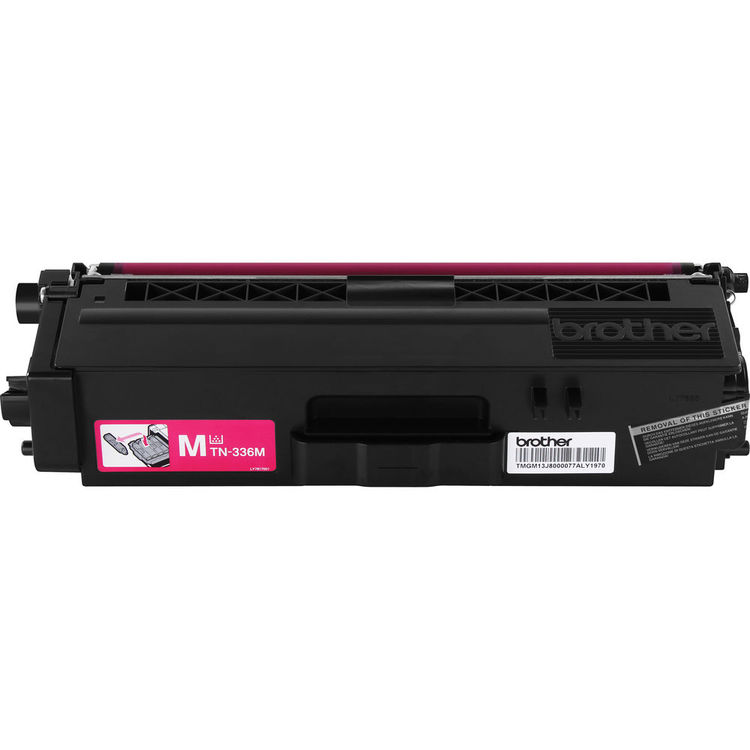 Compatible Brother TN336M Magenta Toner Cartridge