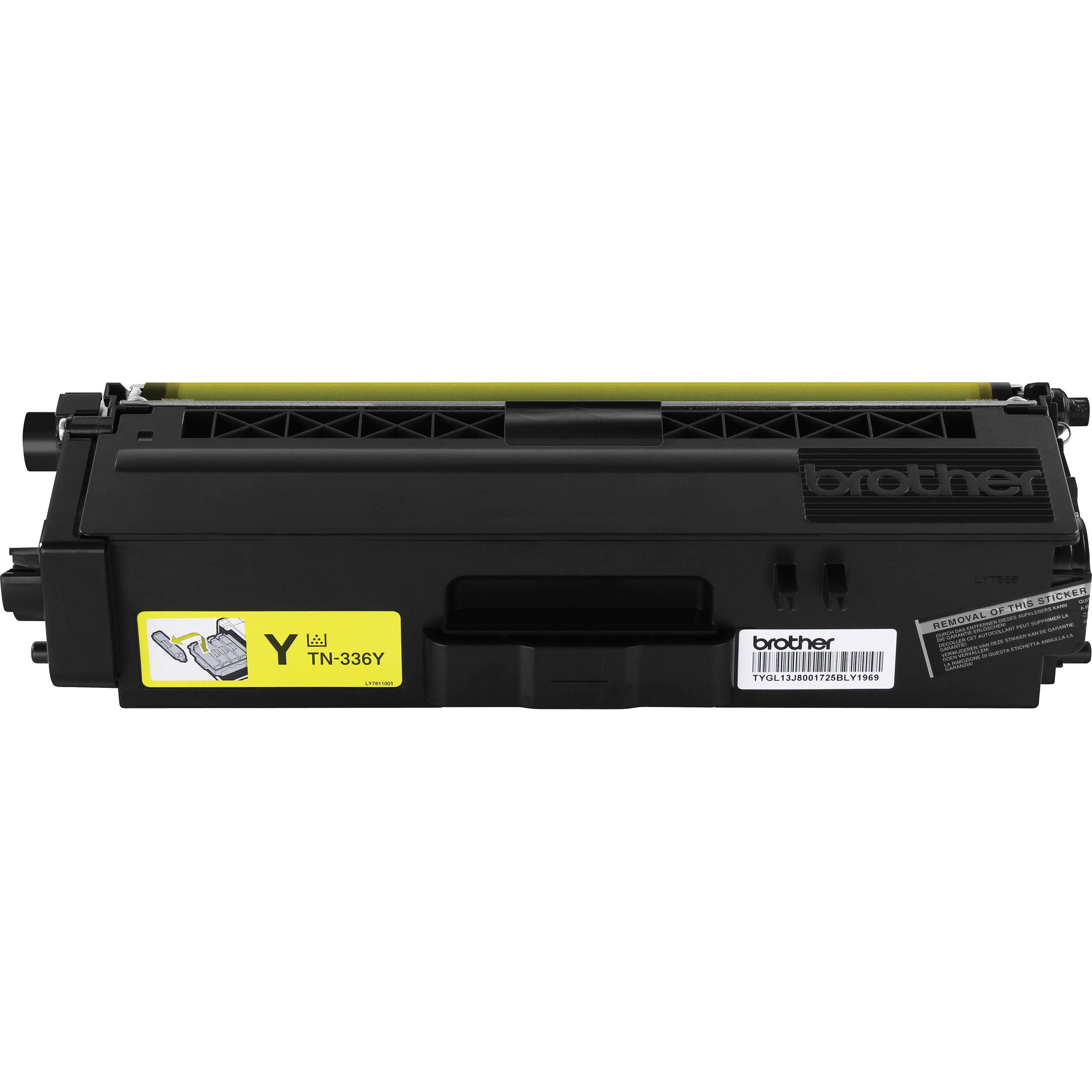 Compatible Brother TN336Y Yellow Toner Cartridge