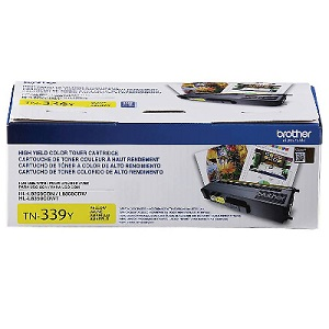 Brother TN339Y Yellow Toner Cartridge