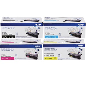 Brother TN431 Toner Cartridge Set